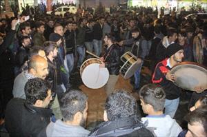 Kobani kutlaması