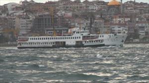 İstanbul'a beklenen fırtına geldi
