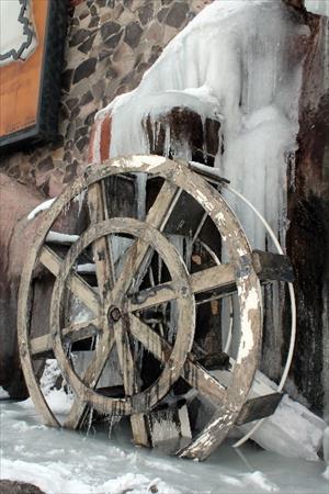 Erzurum buzlar diyarı oldu