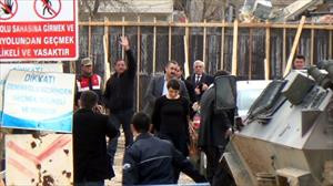 HDP heyeti Kobani'ye gitti