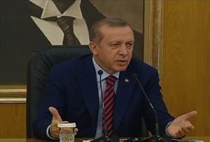 Erdoğan silahsızlanma çağrısını değerlendirdi