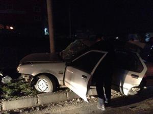 Samsun'da feci kaza: 1 ölü, 3 yaralı