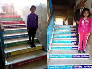 Merdiven çıkarken de eğitim
