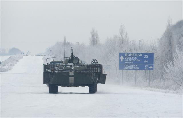 Ukrayna'nın doğusunda gerginlik