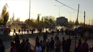 PKK'lının cenazesinde olaylar çıktı!