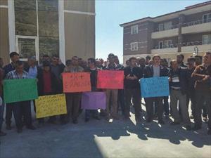 18 madencinin öldüğü Ermenek'te işsiz kalan madencilerden  tepki