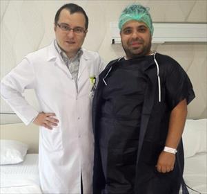 Okan Karacan midesini küçülttü