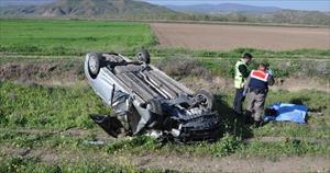 Cenazeye giderken trafik kazası kurbanı oldular