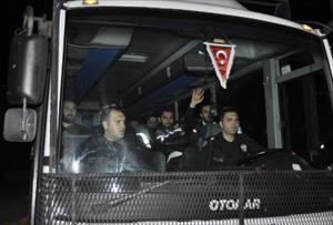 (Özel) Tutuklanan 17 polis Silivri Cezaevi'nde