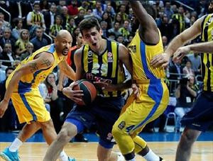 Fenerbahçe Ülker sweeps Maccabi to clinch its first Final Four appearance