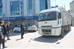 HDP'nin Iğdır adayları başkan otomobilinde