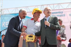 Kılıçdaroğlu temel attı