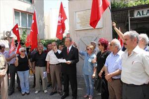 Vatan Partisi adayı Karataş, çalışmalara Alacamescit'ten başladı
