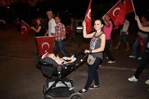 CHP'li gençlerden 19 Mayıs için fener alayı