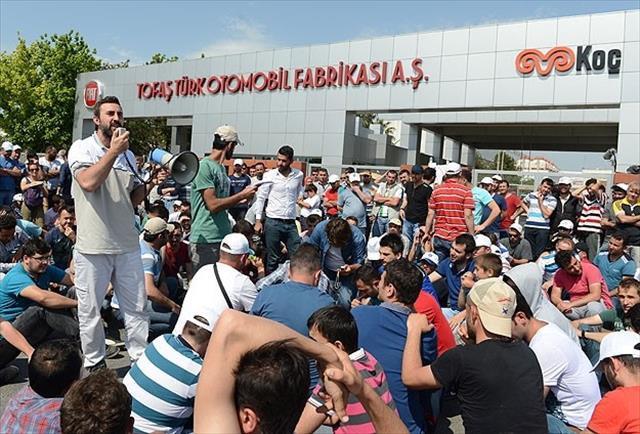 Tofaş'ta işçilerin eylemi sona erdi
