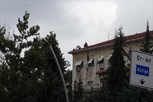 Mısır Büyükelçiliği'nde intihar girişimi