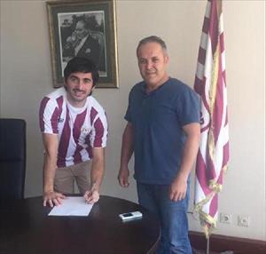 Bandırmaspor Ercan'la 2 yıllık sözleşme imzaladı