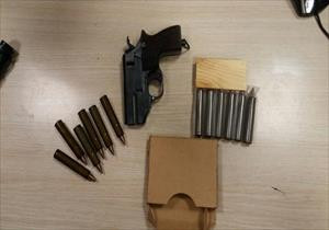 Sınır kapısında el yapımı suikast silahı ele geçirildi