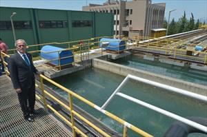 Bursa'nın içme suyunu Japon balıkları test ediyor