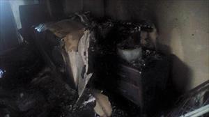 Buzdolabı patladı 2 ev kullanılamaz hale geldi