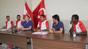 Boluspor, 4 futbolcuya imza attırdı