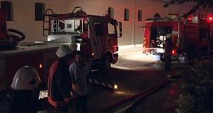 Gülhane Parkı'nda korkutan yangın