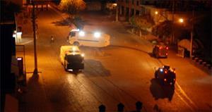 Molotoflu eylemcilere polis müdahalesi