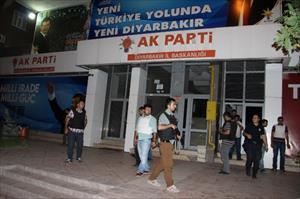AK Parti binasına bombalı saldırı girişimi