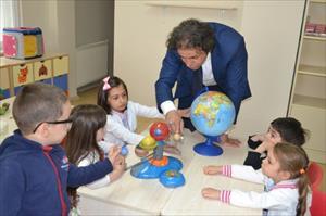 Türkiye'nin ilk bilim adamı yetiştiren anaokulu kuruldu