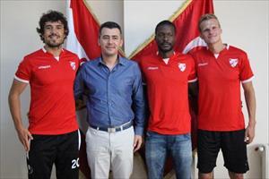 Boluspor 3 futbolcuya imza attırdı