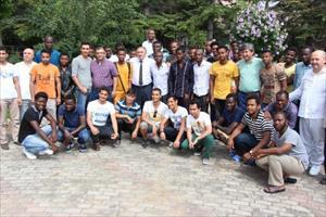 90 ülkeden öğrenciler Bolu'da kampa girdi