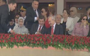 Davutoğlu ile Kılıçdaroğlu arasında dikkat çeken sohbet
