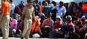 412 illegal migrants of Syrian origin captured in Ayvalık