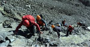47 sporcudan Kaçkar Dağı'na zafer tırmanışı!