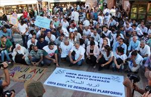 Şanlıurfa Emek ve Demokrasi Platformu'ndan barış çağrısı