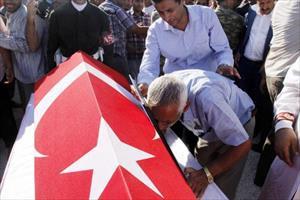 Kilis'te şehit olan Yusuf Beylem için Gaziantep'te tören (2)