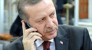 Cumhurbaşkanı, Fransa Cumhurbaşkanı ile telefonda görüştü