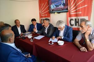 CHP heyeti Bitlis'te