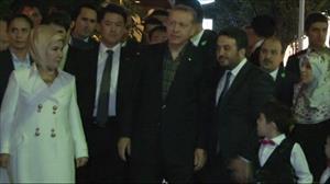 Erdoğan Tokyo Camii'nde akşam namazı kıldı