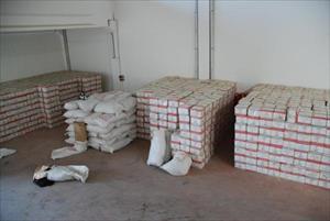 Gaziantep'te 35 ton kaçak çay ele geçirildi
