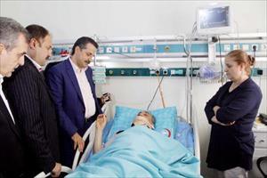 Kazada yaralanan milletvekili Fakıbaba'nın tedavisi sürüyor