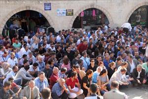 Ankara'daki bombalı saldırı Şanlıurfa'da protesto edildi