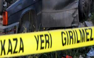 Otomobille kamyonet çarpıştı: 7 yaralı