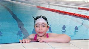 Bedensel engelli kızın müthiş başarısı