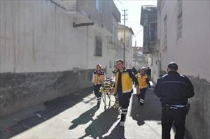 Nizip'te 2'inci kattan atlayan kişi ağır yaralandı