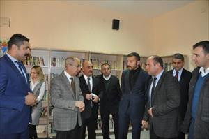 Iğdır'da şehit 13 polis anısına kütüphane açıldı