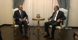 Cumhurbaşkanı, başbakan ve dışişleri bakanıyla görüştü