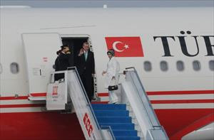 Erdoğan Paris'e gitti