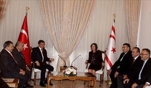 Davutoğlu Meclis Başkanıyla görüştü