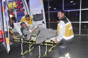 Maskeli soyguncular, pompacıyı yaraladı